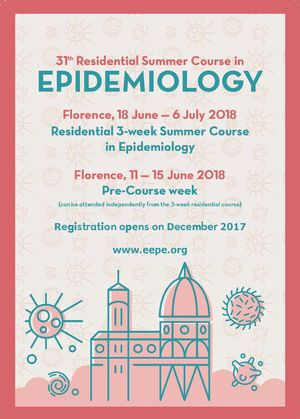 European Educational Programme in Epidemiology (EEPE). Firenze, estate 2018