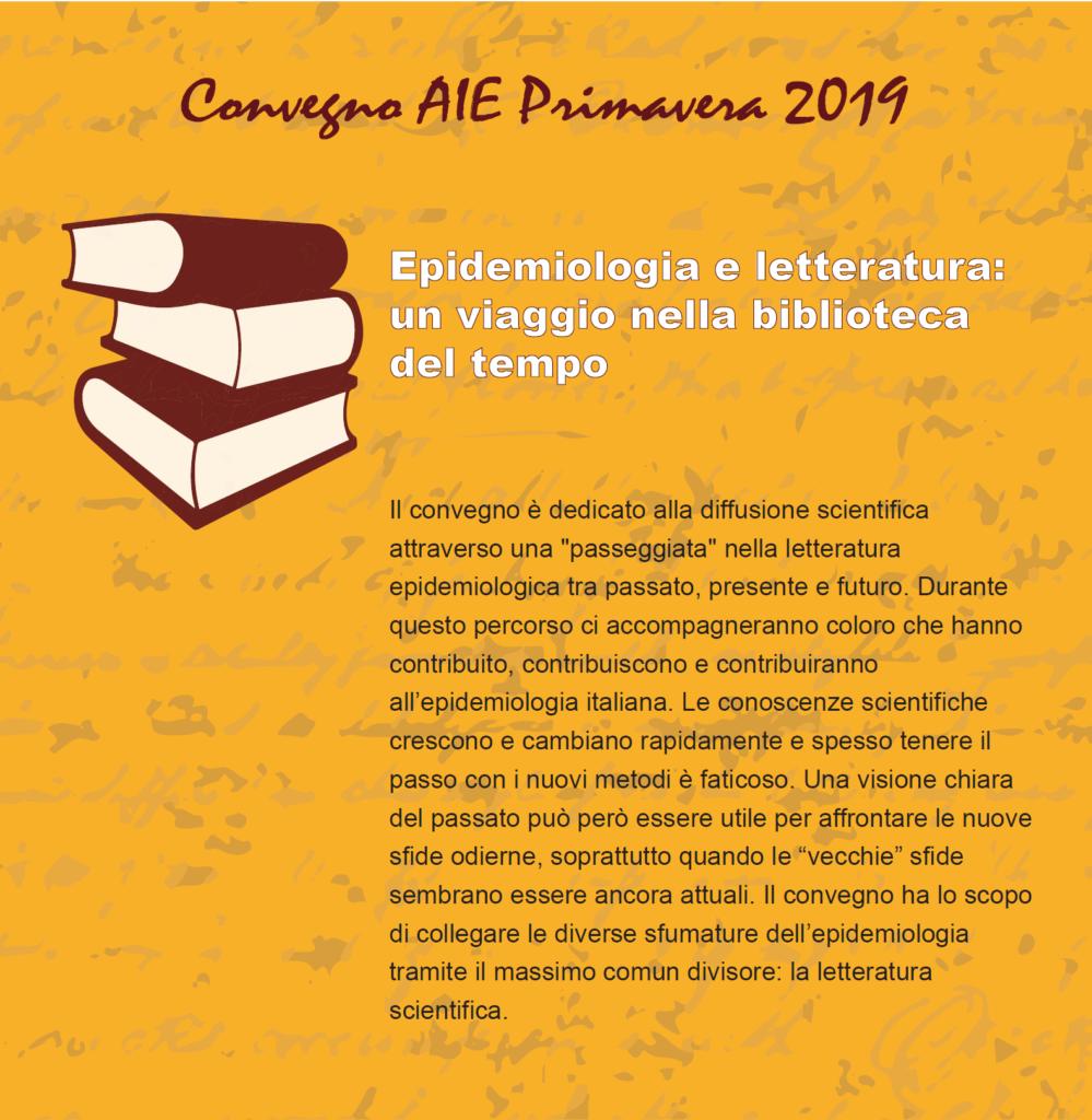 Convegno AIE di Primavera 2019