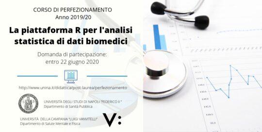 La piattaforma R per l'analisi statistica di dati biomedici