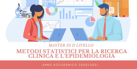 Master di II Livello in Metodi Statistici per la ricerca clinica e l'epidemiologia
